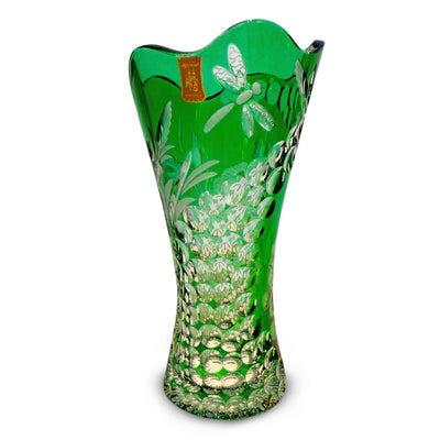 "Green Vase 180 Summertime 10"" High"