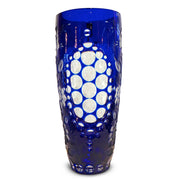 "The Four Seasons Vase Winter Blue 11"" High"