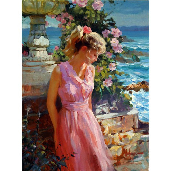 "Afternoon Sunshine Giclee on Canvas Limited Edition Artist's Proof 12/35 by Volegov 37.35""W x 47.25""H"