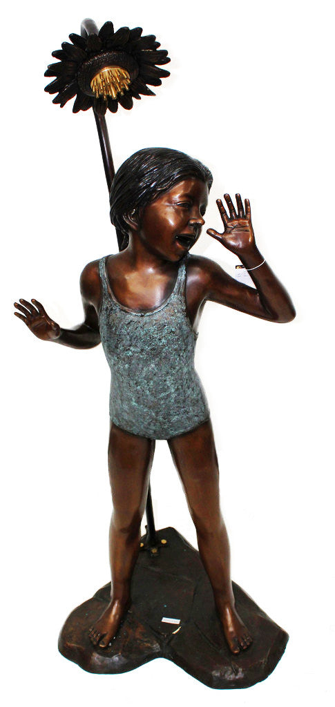 "Bathe Girl 20""L x 20""W x 43""H"