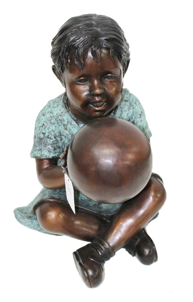 "Boy with Ball 15""L x 15""W x 22""H"