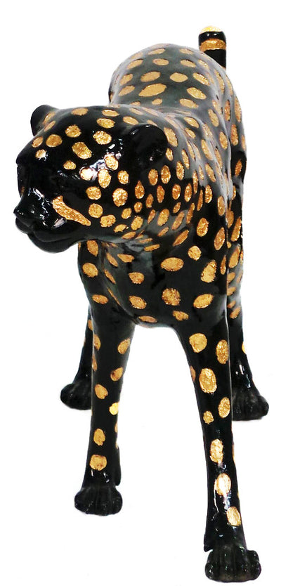 "Cheetah Head Down / Right 16""L x 60""W x 25""H"