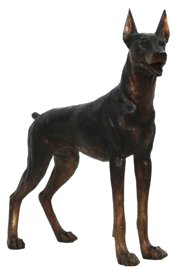 "Doberman without Base 13""L x 39""W x 39""H"