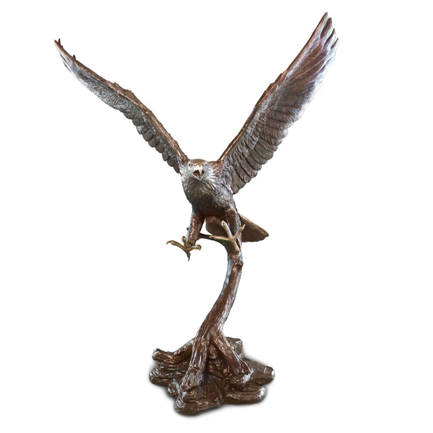 "Eagle Flying 38""L x 60""W x 79""H"