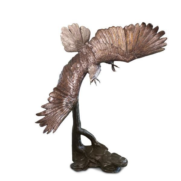 "Eagle Flying Left 30""L x 75""W x 79""H"