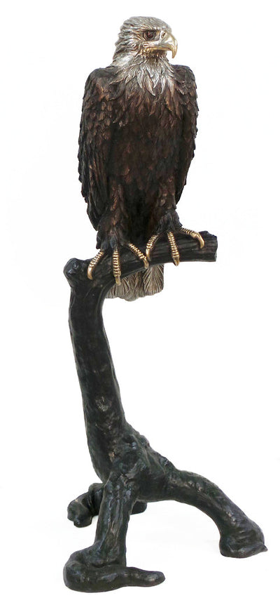 "Eagle on Tree 38""L x 34""W x 77""H"