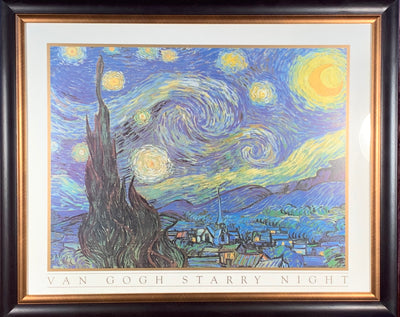 Van Gogh Starry Night Framed Print