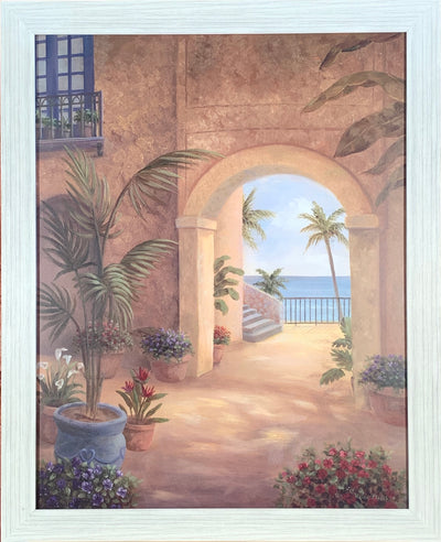 Archway to Paradise Framed Print