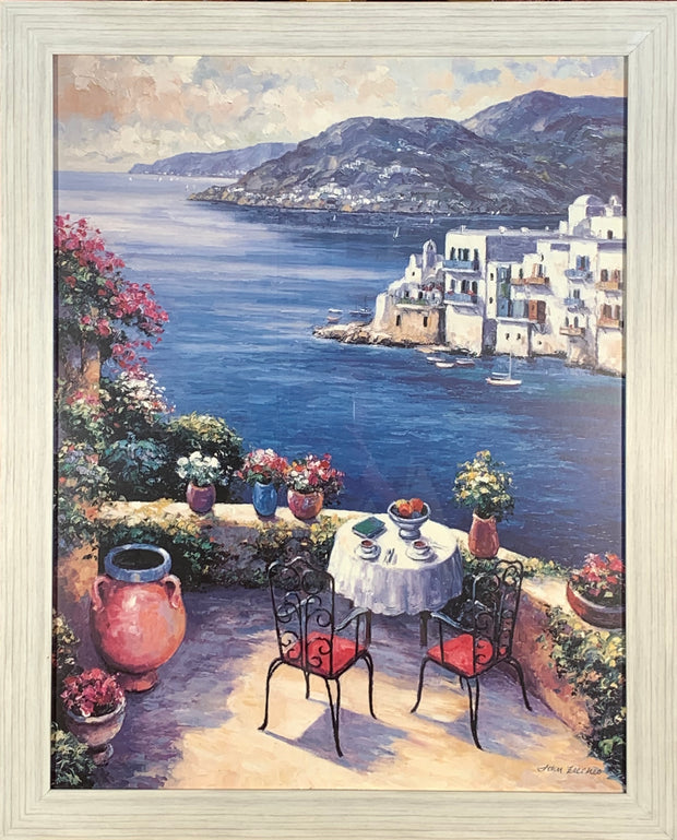 A Meal with a View Framed Print