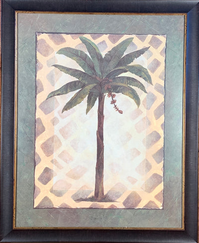 Tropical Palm Tree Framed Print