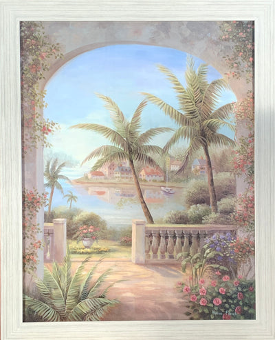 Archway to Tropics Framed Print