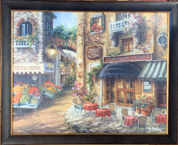 Buon Appetito by Nicky Boehme Framed Print
