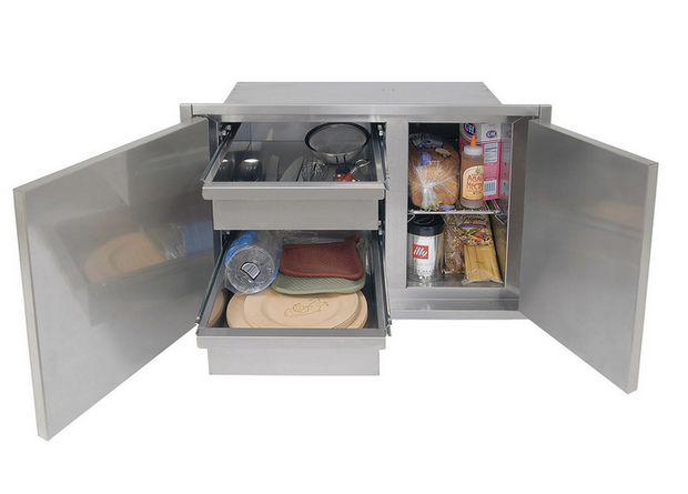 "Alfresco 30"" Low Profile Dry Storage Pantry (21"" high)"