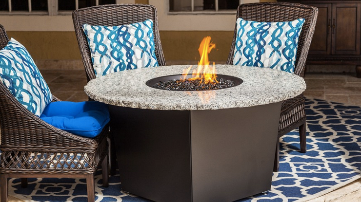 The Rivera - Outdoor Fire Pit Table