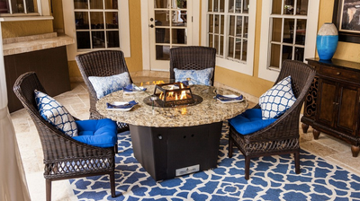 The Naples - Fire Pit Table