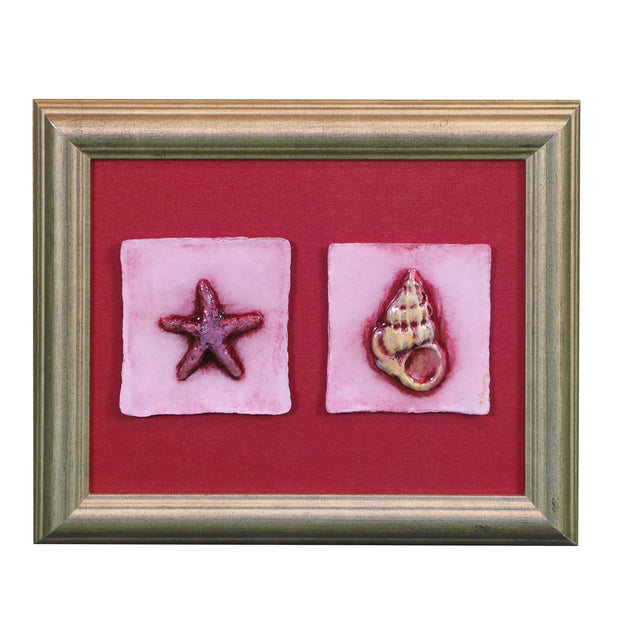 "Starfish & Wentle 12""W x 10""H"