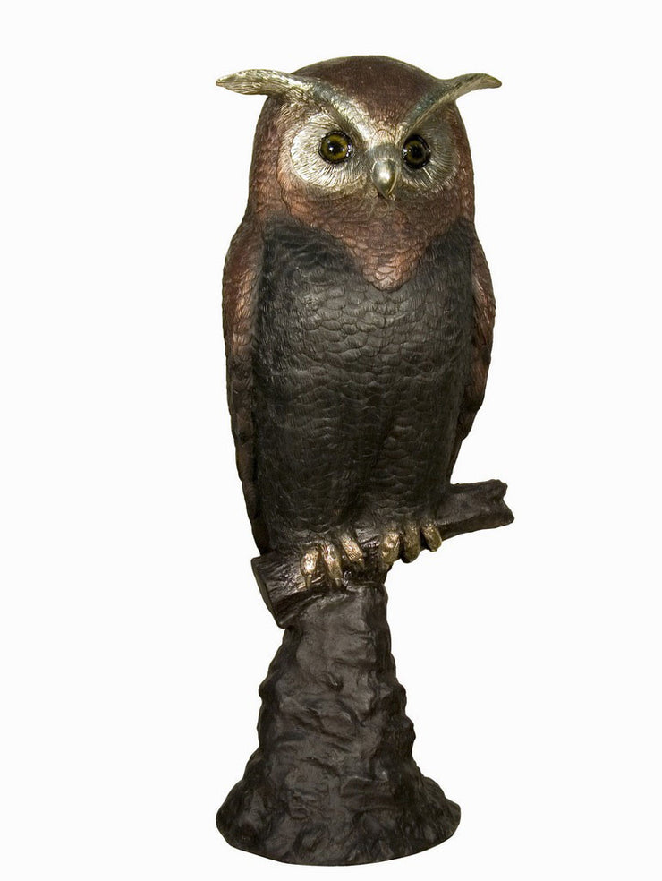 "Owl without Base 18""L x 16""W x 44""H"