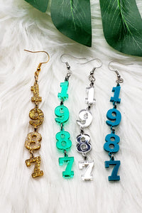Est. Earrings- Multiple Colors Available