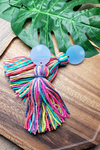 Load image into Gallery viewer, Spring Fling- Tassel Earrings (2 Acrylic Options)