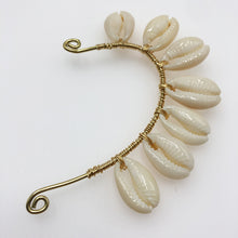 Load image into Gallery viewer, Cowrie Shell Cuff