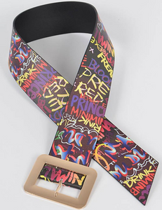 Graffiti Belt