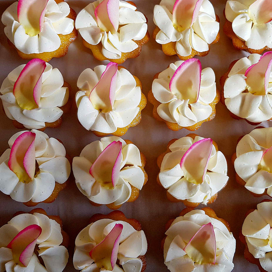 Orange and almond cup cakes