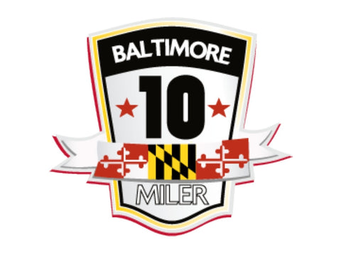 Baltimore 10-Miler Sticker