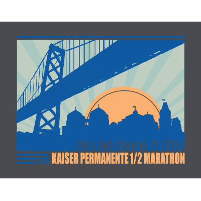 2015 Oakland Women's Half Marathon Race Shirt