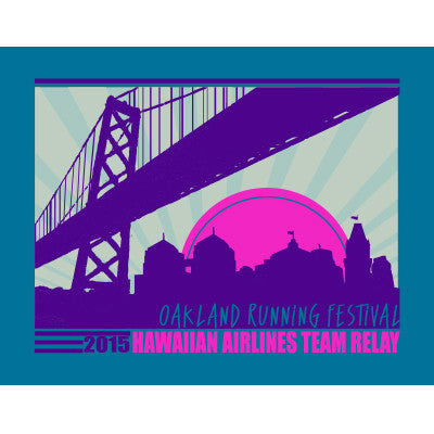 2015 Oakland Men's Team Relay Race Shirt