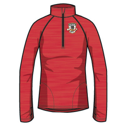 2015 Women's BornFit Heathered 1/4 Zip