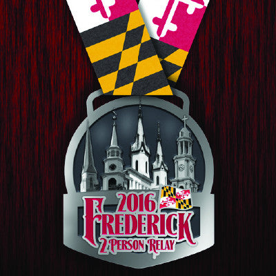 2016 Frederick Running Festival Replacement Medals
