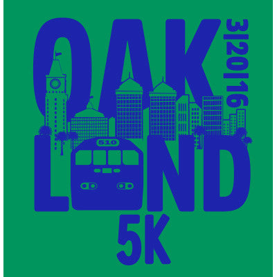 2016 Oakland Men's 5K Race Shirt