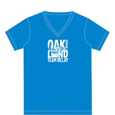 2016 Oakland Women's Team Relay Race Shirt