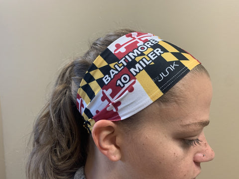 Junk Maryland Flag Headband