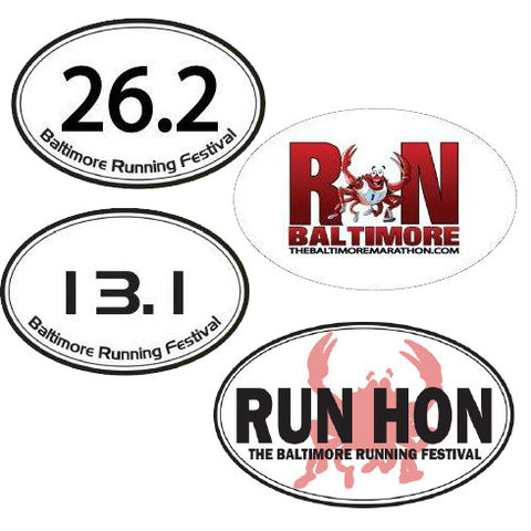 Baltimore Running Festival Magnets