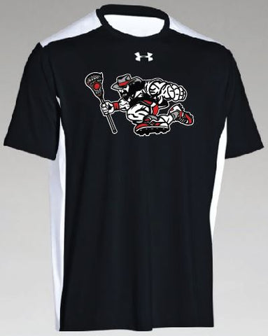 Black/Steel Roughrider Raid Tee