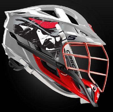 2020 Matte Grey Cascade 'S' Helmet: YOUTH