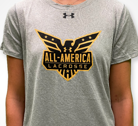 Women's UA Tech Tee - True Grey Heather