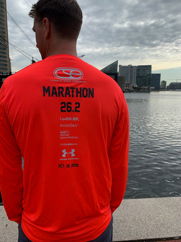 2019 Baltimore Men's Marathon Race Shirt