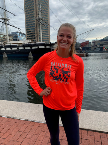 2019 Baltimore Women's Marathon Race Shirts