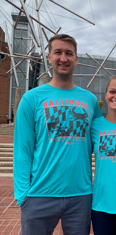 2019 Baltimore Men's Half Race Shirts