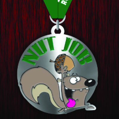 2015/2016 NutJob Replacement Medal