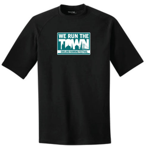 Run the Town Ultimate T- Black
