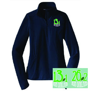 Women's Run Oakland 1/4 Zip- Navy