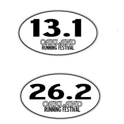 Oakland Running Festival Magnets