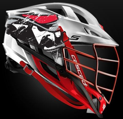 2018 Cascade Platinum Helmet-S: Virginia Teams