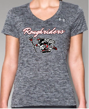 UA Roughrider Tech Twist V-neck