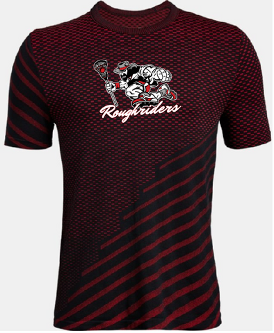 Youth Red Seamless Roughrider Tee
