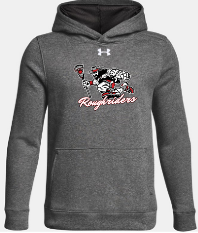 Youth Grey RoughRider Hoodie
