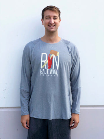 Mallet & Claw - Men's Gray Long Sleeve